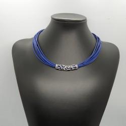 Náhrdelník sedmipramenný modrý